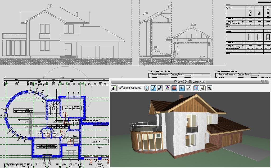 Sposób tworzenia budynku w programie ArCADia-ARCHITEKTURA