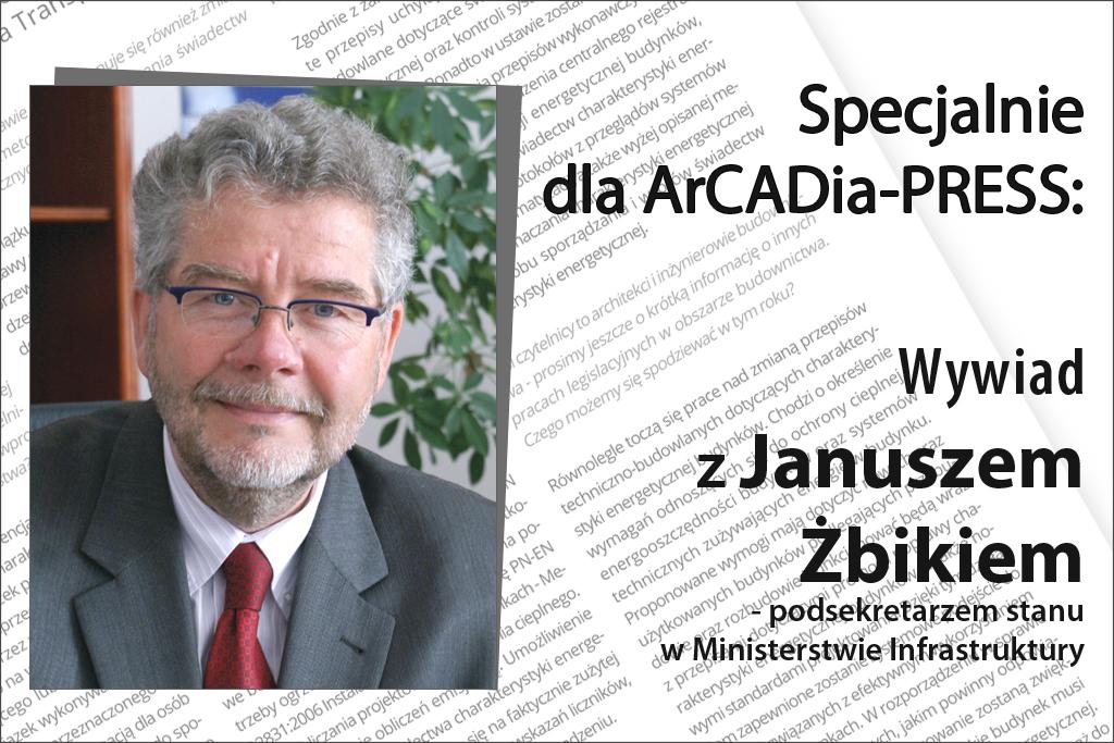 Wywiad z Januszem Żbikiem