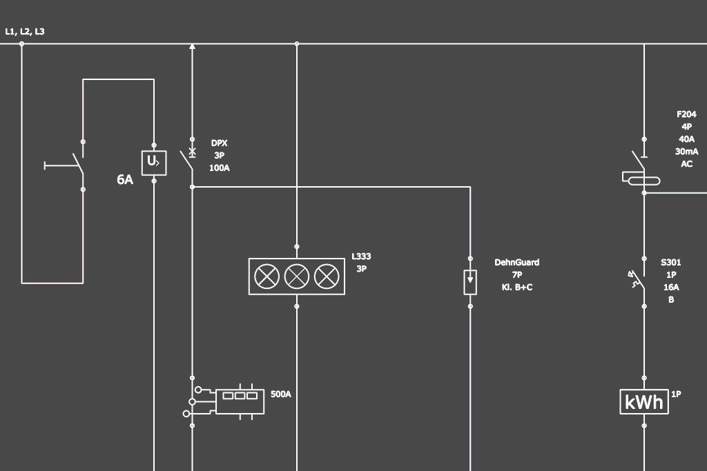 Projektowanie schematu tablicy rozdzielczej w programie ArCADia-TABLICE ROZDZIELCZE
